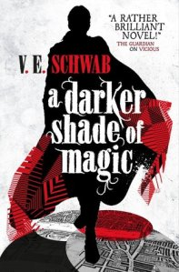 A Darker Shade of Magic UK paperback cover