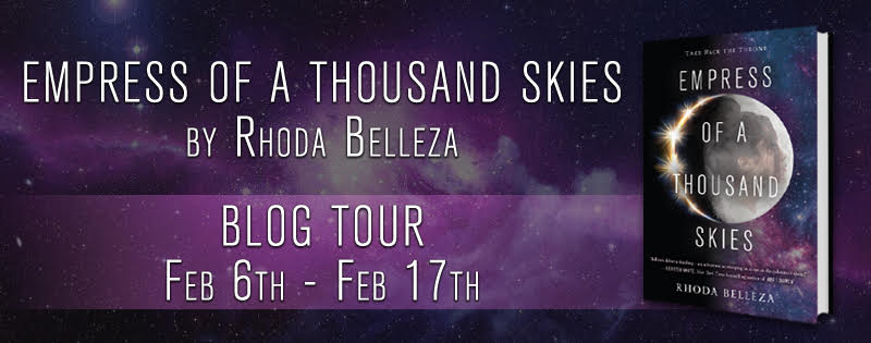 Blog Tour: Empress of a Thousand Skies by Rhoda Belleza + Giveaway